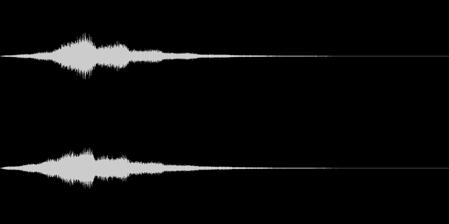 Utility ホワイトノイズ SFX2の未再生の波形