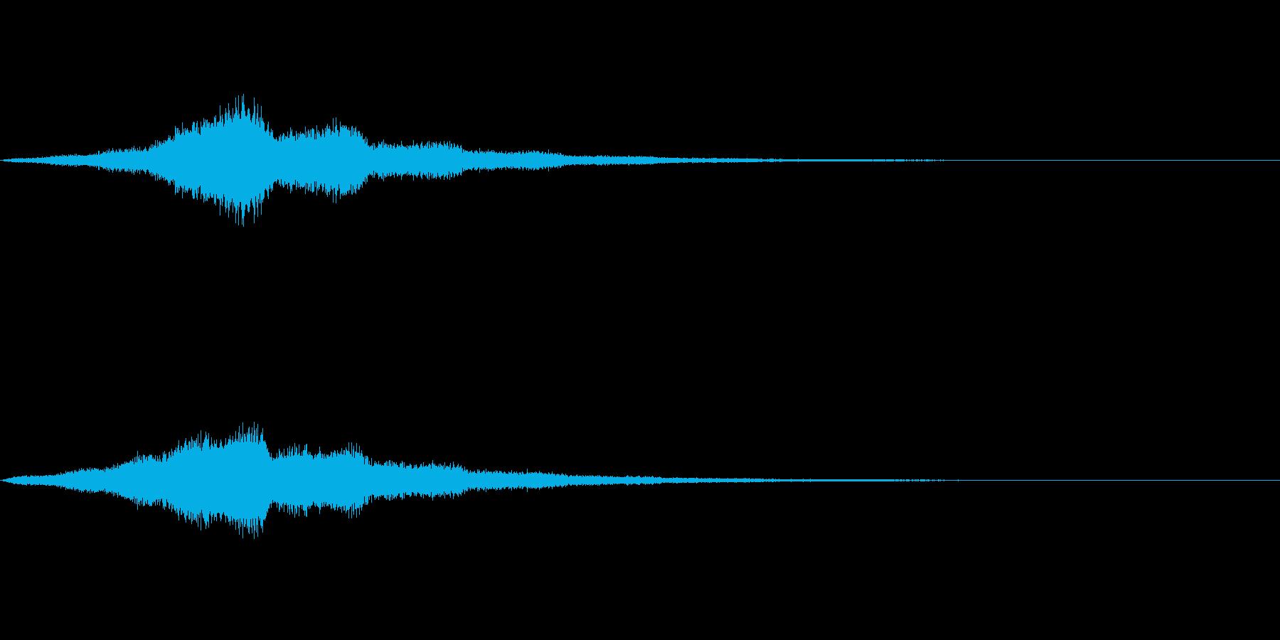 Utility ホワイトノイズ SFX2の再生済みの波形