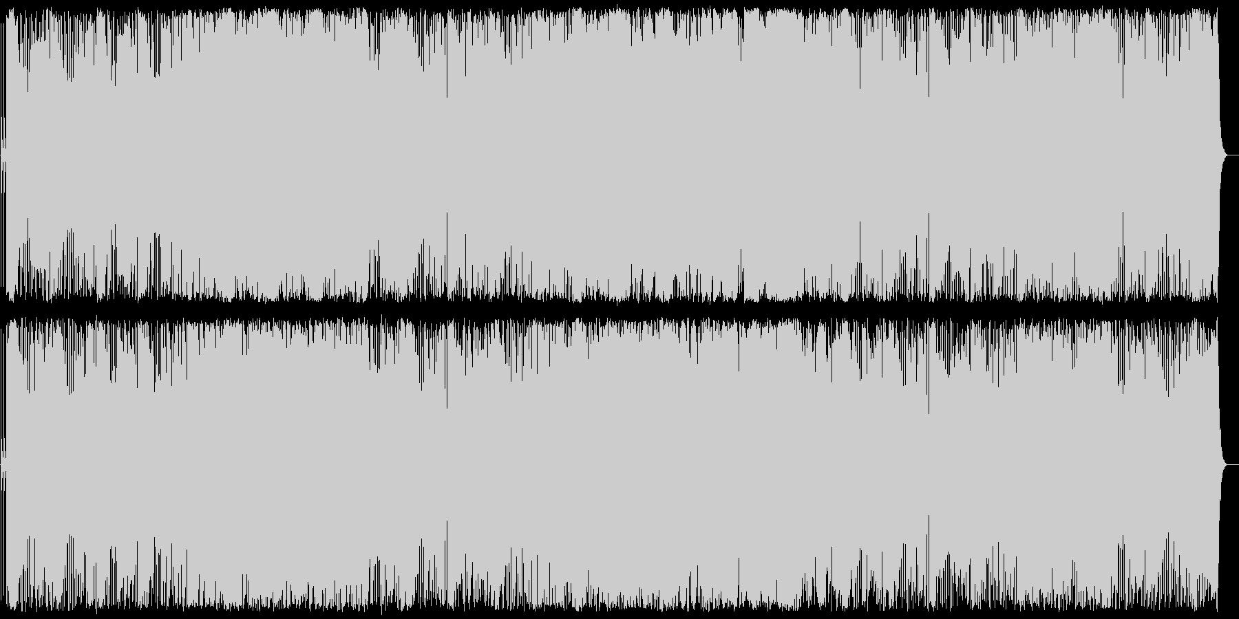 雄大さを感じさせるポピュラー音楽の未再生の波形