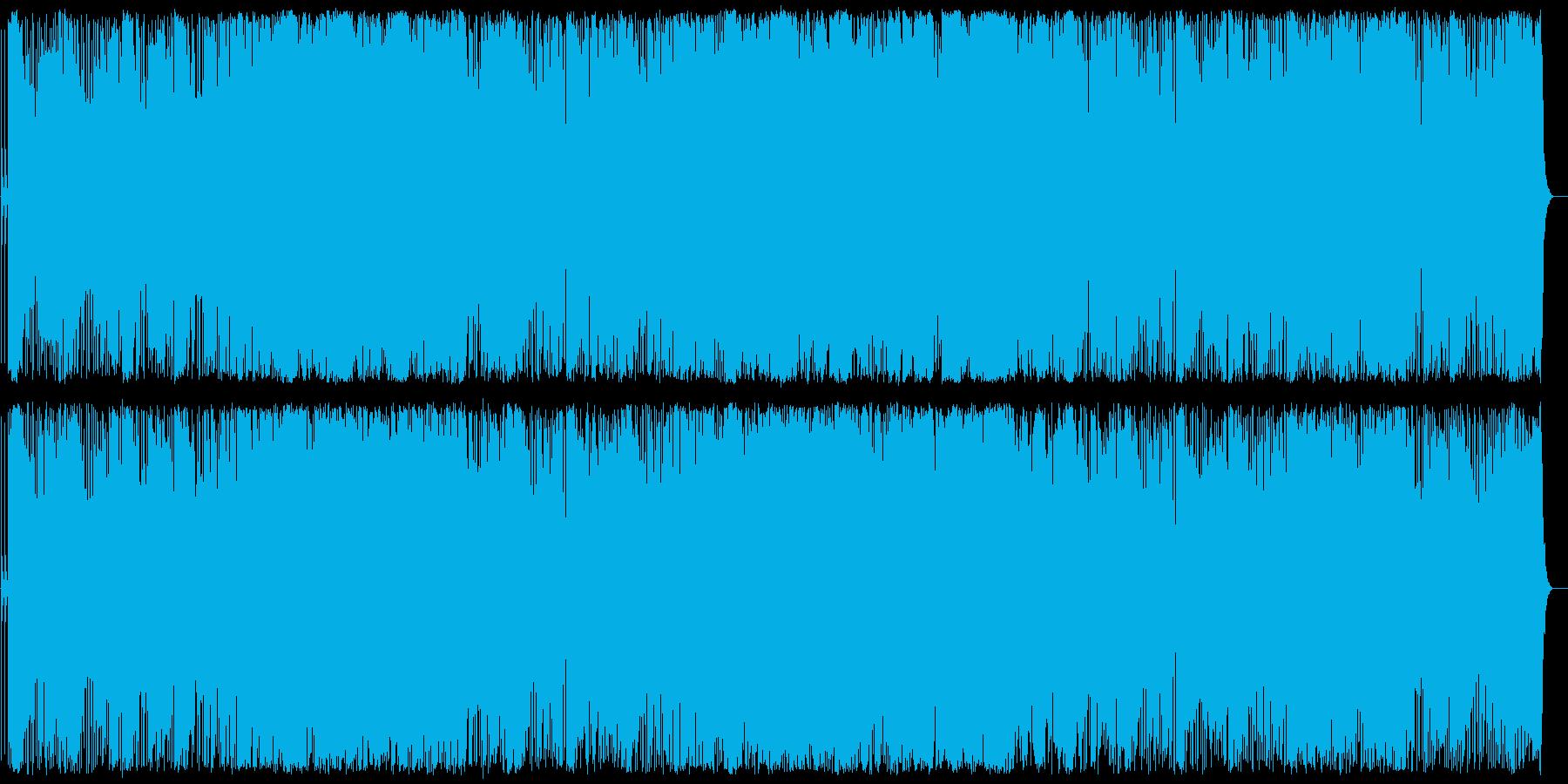 雄大さを感じさせるポピュラー音楽の再生済みの波形