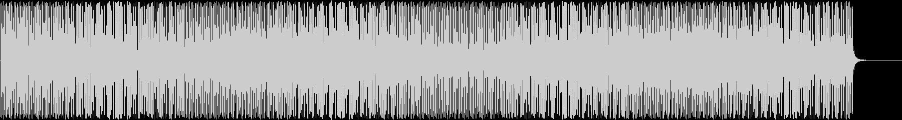 納涼リゾートハウスミュージックの未再生の波形