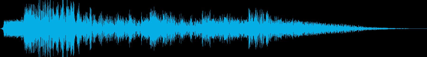 ラッツリーメタルインパクトサッドヒ...の再生済みの波形