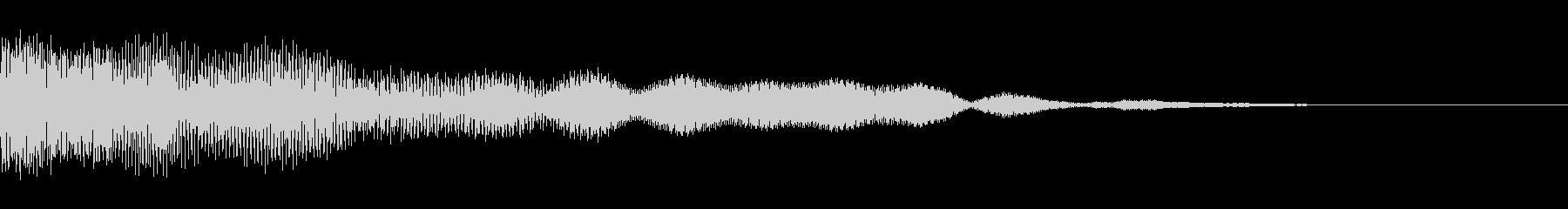 ビープ音色16の未再生の波形