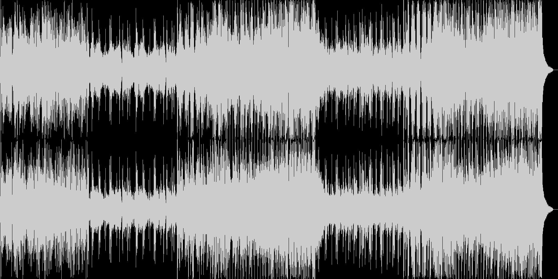 風舞う竹林を渡り行く様な和風エレクトロの未再生の波形