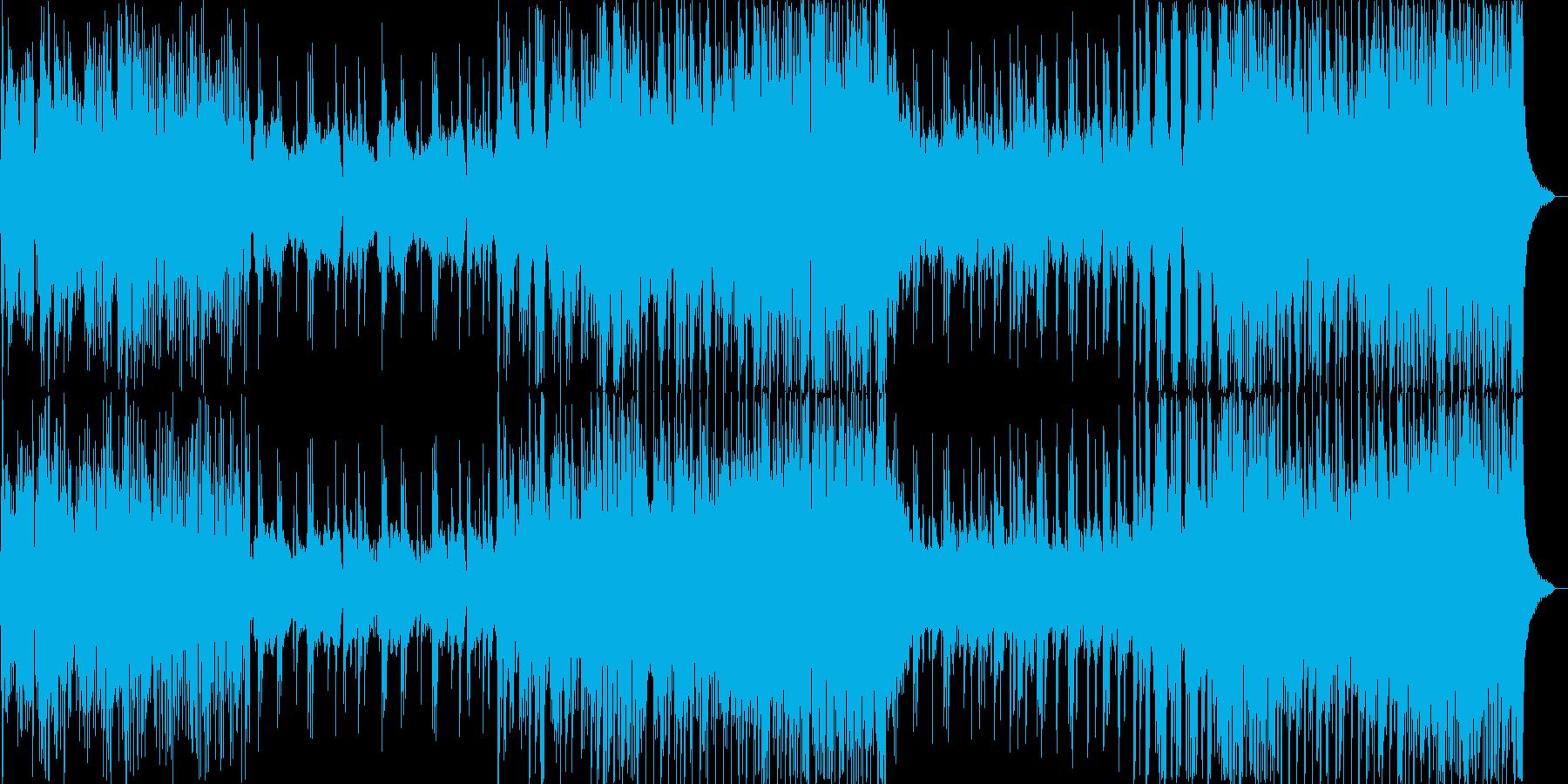 風舞う竹林を渡り行く様な和風エレクトロの再生済みの波形