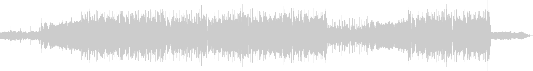 洋楽、重低音の808ベース、トラップの未再生の波形