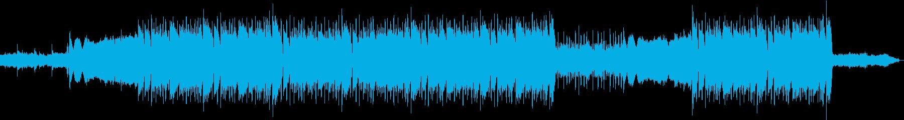 洋楽、重低音の808ベース、トラップの再生済みの波形