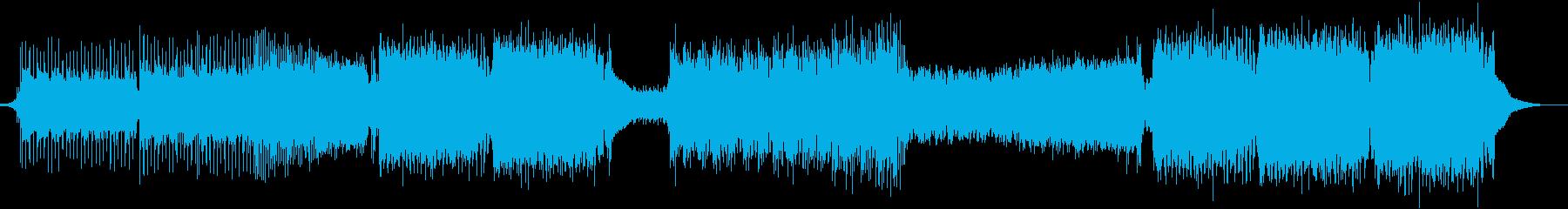 小室進行シンセメインのエモいEDMの再生済みの波形
