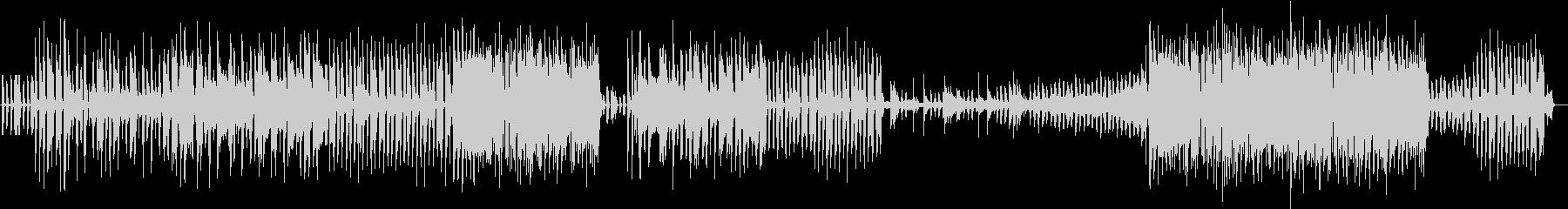エレクトロとジャズを融合、不思議サウンドの未再生の波形