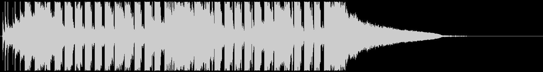 かわいいEDM ポップ TIKTOKの未再生の波形
