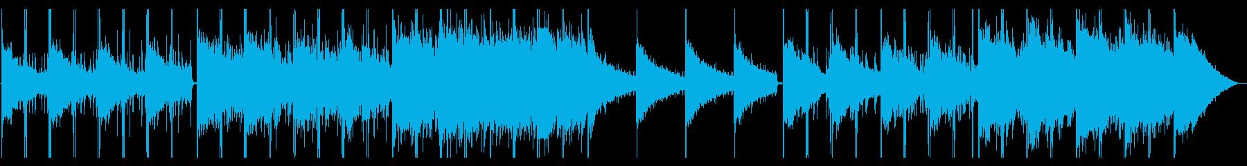 幻想的な風景の似合うエレクトロニカの再生済みの波形