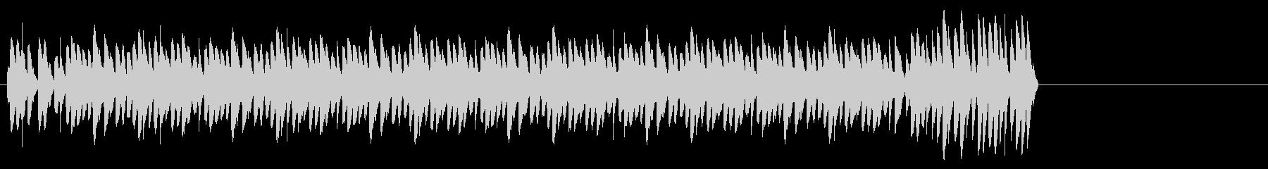 目覚まし時計-ベル1ロングシグナルの未再生の波形
