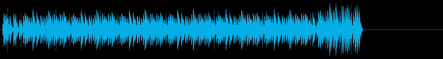 目覚まし時計-ベル1ロングシグナルの再生済みの波形