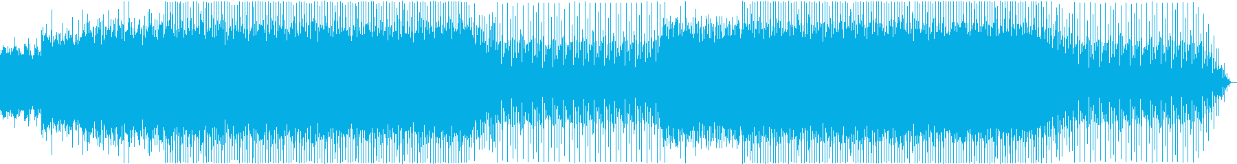 夜を駆けるような80'sシンセポップ 1の再生済みの波形