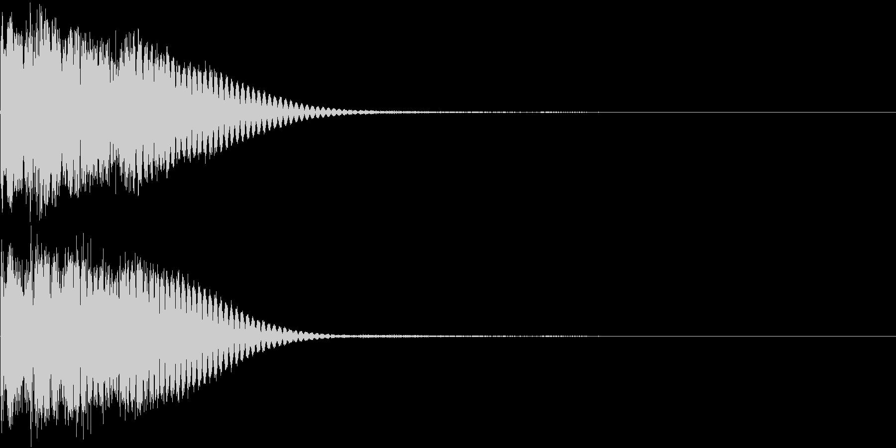 クリック音、キラン、キュイン、ピコン07の未再生の波形