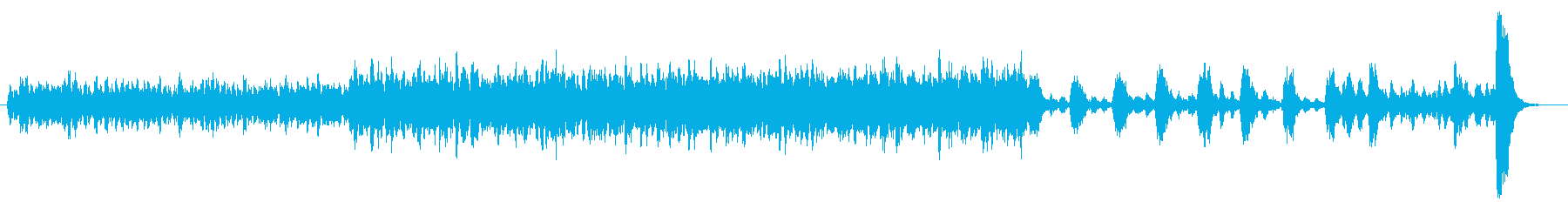 c悲劇的で緊迫したストリングス 1分の再生済みの波形