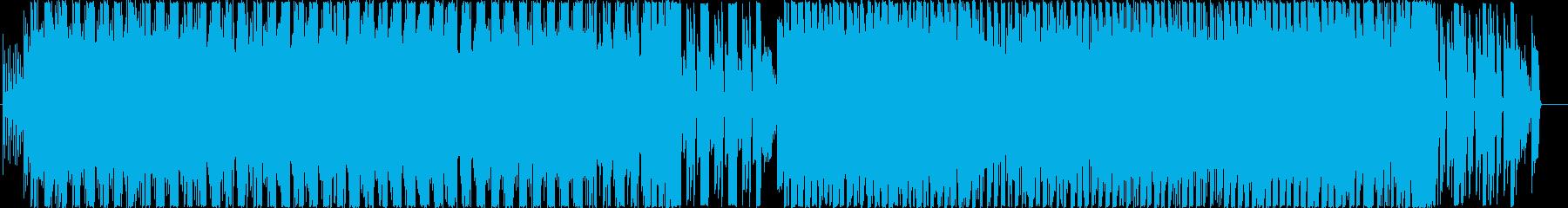 ロックマンエグゼのような戦闘が始まる曲の再生済みの波形