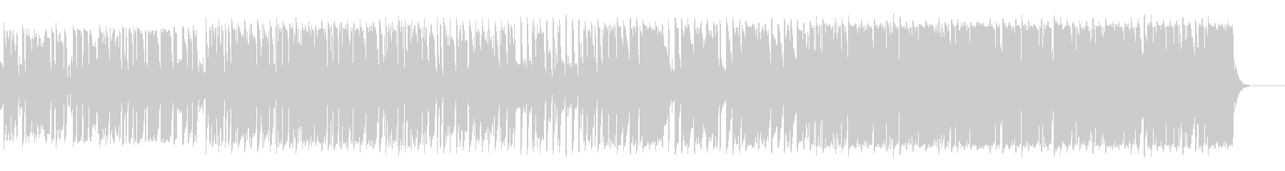 jazz track 01の未再生の波形
