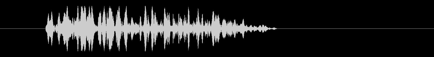 レーザー音-32-3の未再生の波形