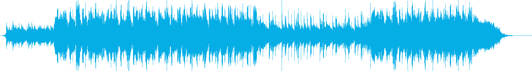 VP系18B、和風(尺八&琴)優しいの再生済みの波形