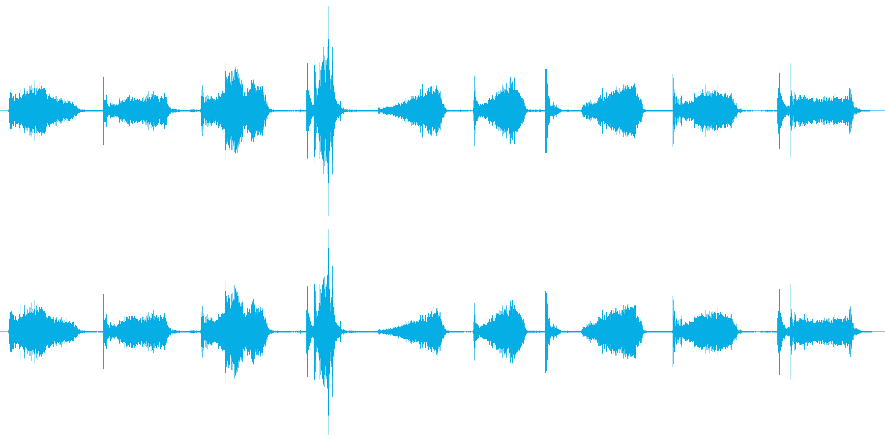 自動ウィンドウスクレーパー:ほうき...の再生済みの波形