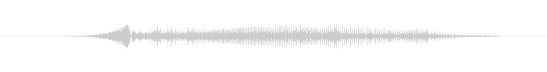 鳴き声 男性の攻撃の叫び02の未再生の波形