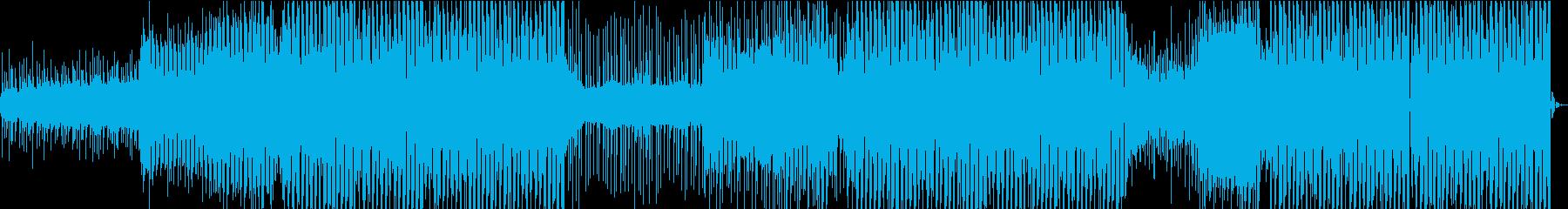 夏 スタイリッシュ 爽やか EDMの再生済みの波形