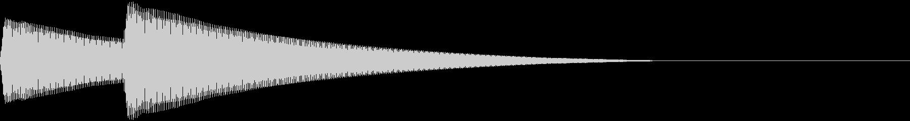 Parody スマホ音声アシスト 起動音の未再生の波形