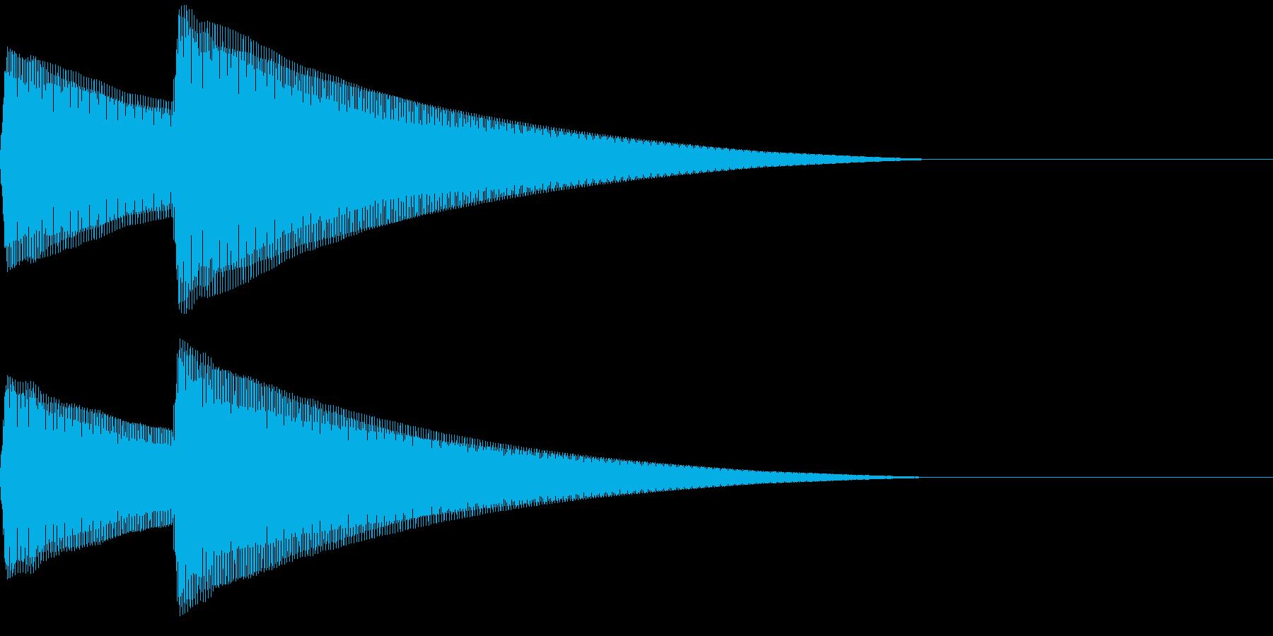 Parody スマホ音声アシスト 起動音の再生済みの波形