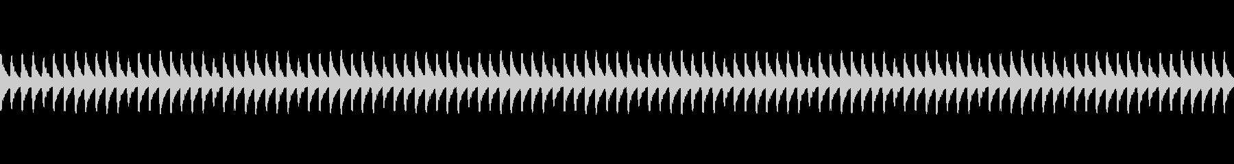 踏切(ふみきり)警告音 電車の未再生の波形