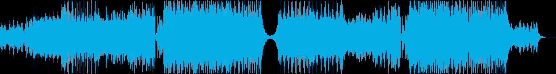 オシャレな海外風トロピカルハウスの再生済みの波形
