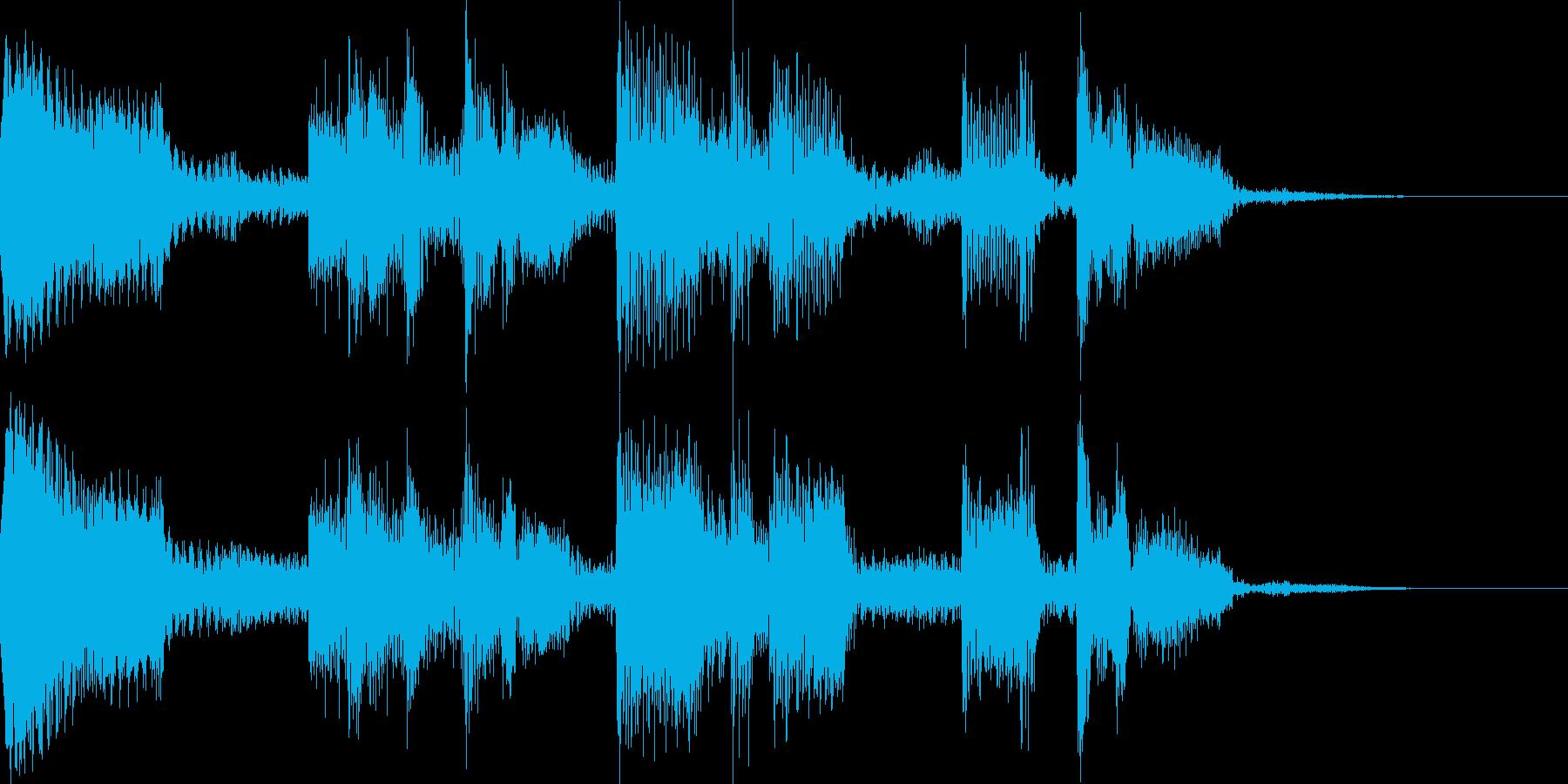 クールなジングル チルアウトの再生済みの波形
