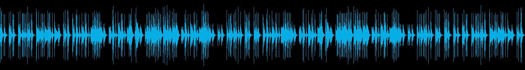 陽気で元気が出る音頭の再生済みの波形