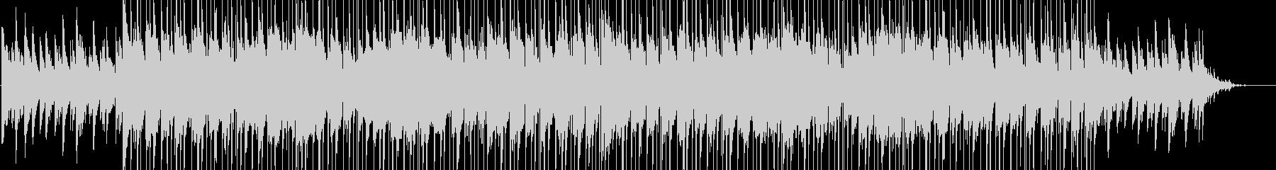 ポップでかわいいピアノ曲の未再生の波形