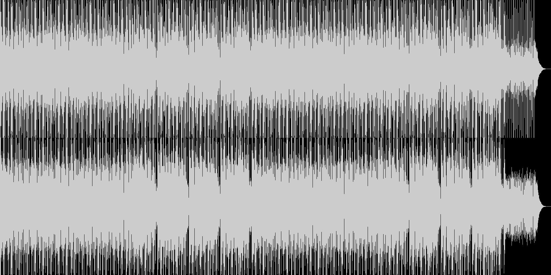 かわいい、ゆるい、コミカル-09の未再生の波形