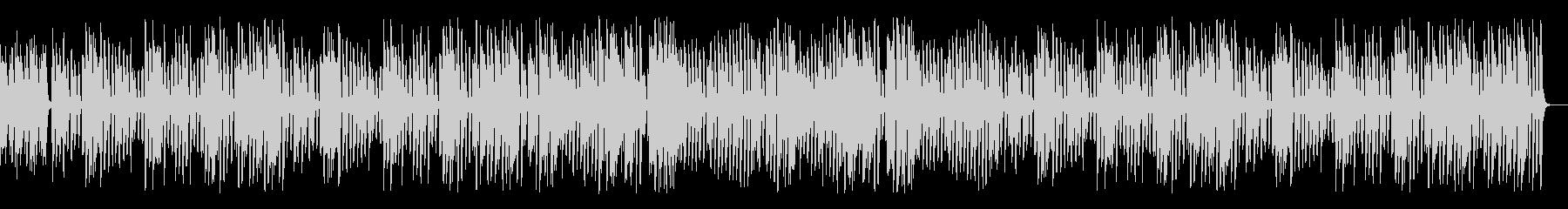 レトロジャズの超名曲エンターテイナーの未再生の波形