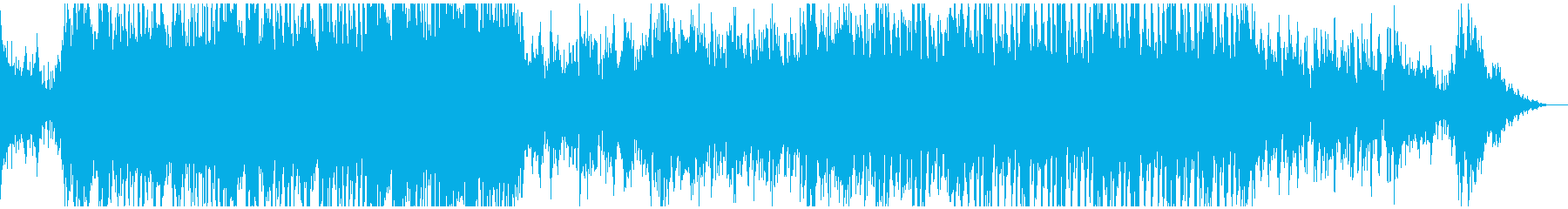 和風 戦い ピンチなイメージの再生済みの波形