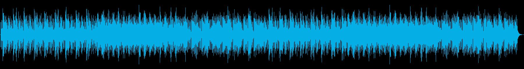 ダークで不思議なメロディーの再生済みの波形