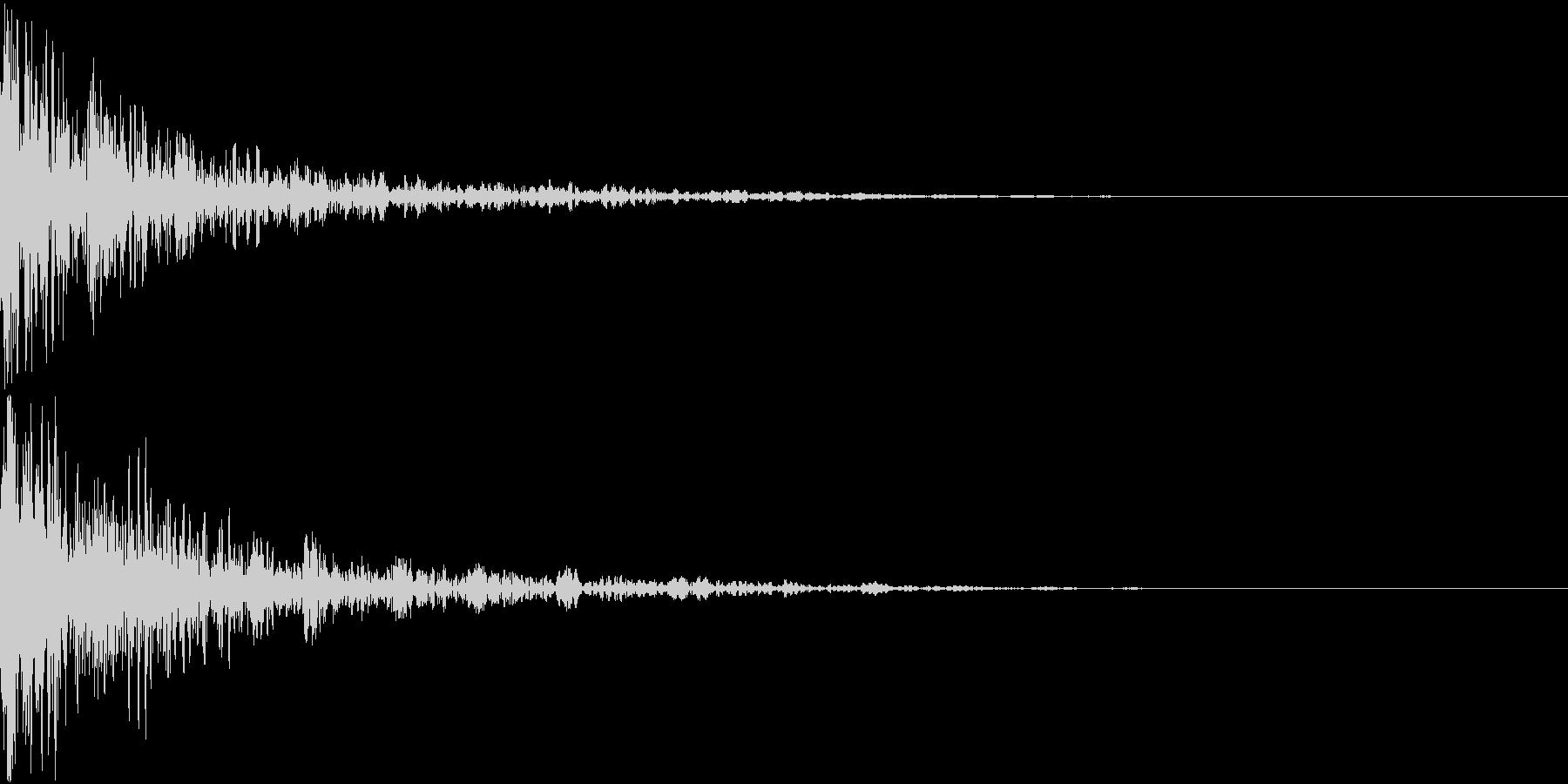 ドーン-48-2(インパクト音)の未再生の波形