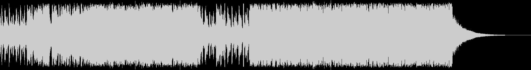カジノ/変拍子のビッグバンドジャズの未再生の波形