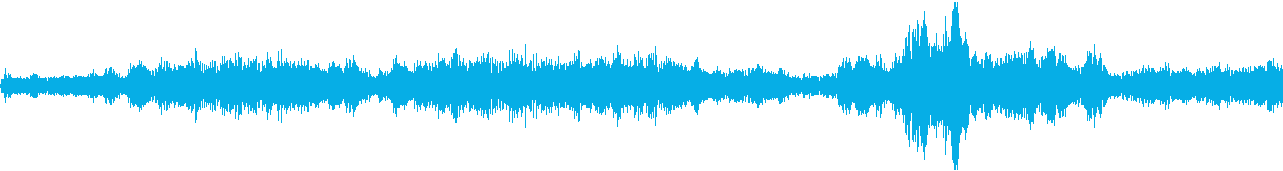 混乱アクセント2の再生済みの波形