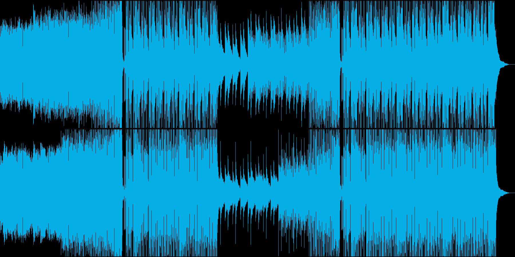 Future Bass 洋楽・かわいいの再生済みの波形