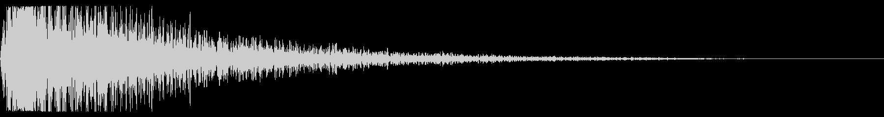 スマッシングスプリングメタルヒットの未再生の波形