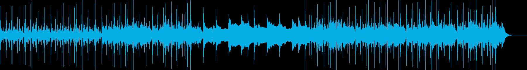 お寺や桜 三味線と琴・尺八・篳篥の再生済みの波形