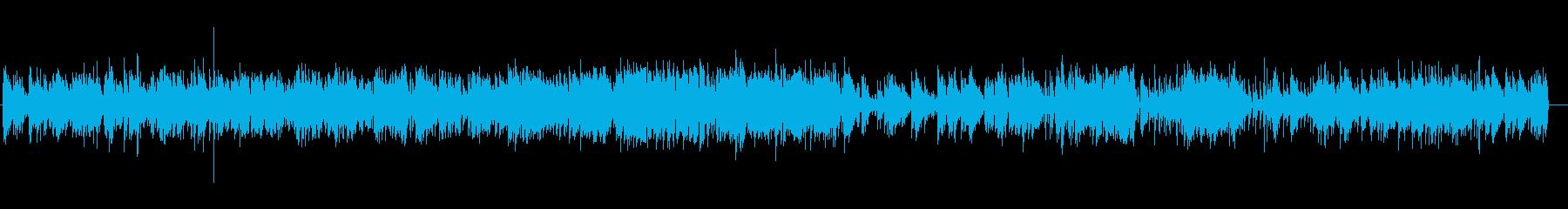荒城の月のジャズピアノアレンジの再生済みの波形