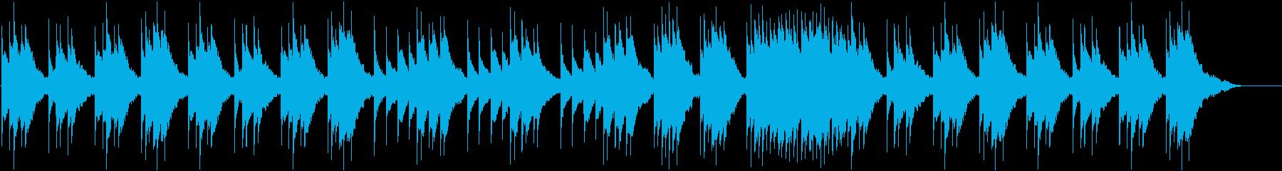 オルゴール/お散歩/子犬/ハムスターの再生済みの波形