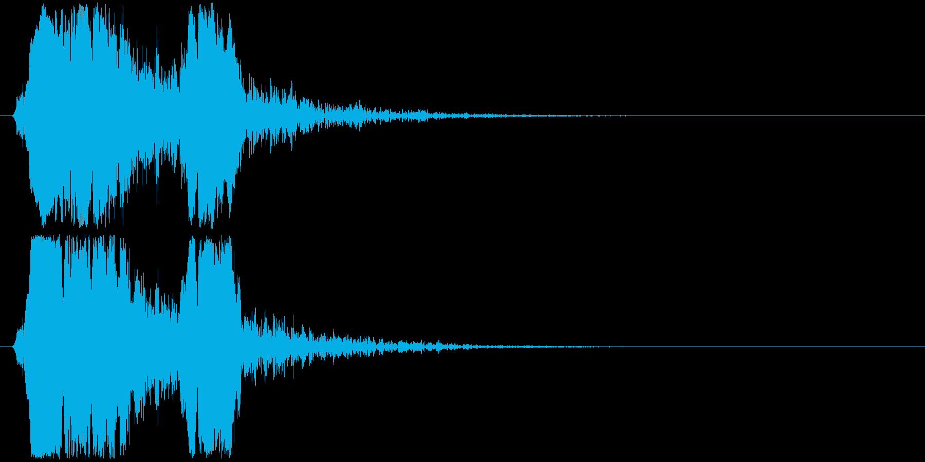 ぴーよぴの再生済みの波形