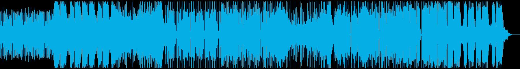 刺さるようなBassが印象的なトラップの再生済みの波形