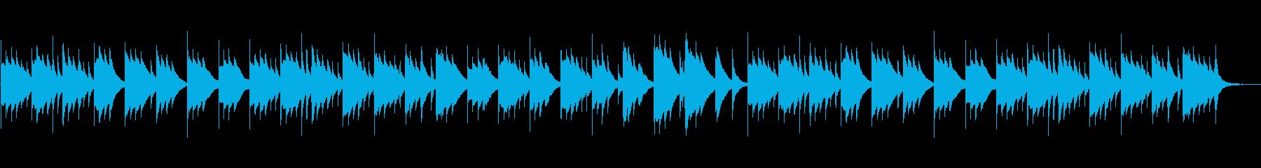 睡眠/赤ちゃん/優しい癒しのオルゴールの再生済みの波形