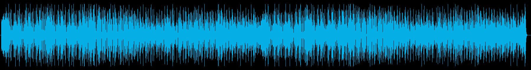 迫る時間制限に焦るポップで不思議なBGMの再生済みの波形